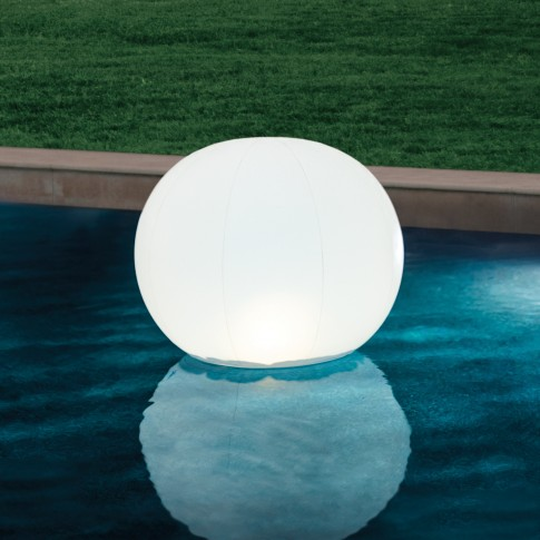 Glob plutitor cu LED Intex 68695, IPX8, 89 x 79 cm