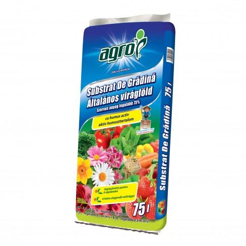 Pamant universal Agro CS, turba + humus, 75 l
