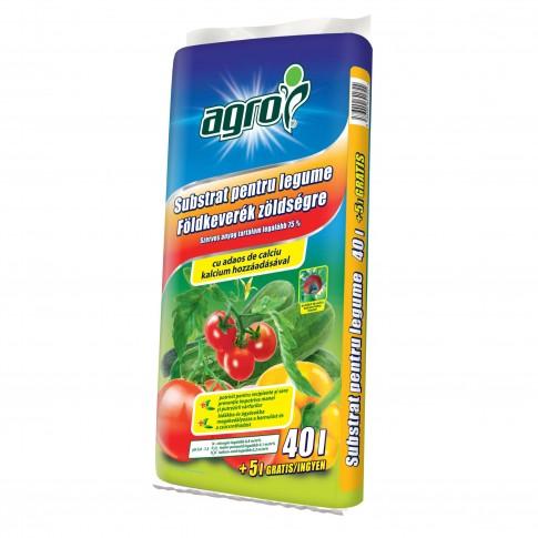Pamant pentru rosii, ardei si castraveti Agro CS, 45 L