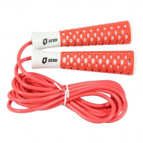 Coarda pentru sarituri Qizo, PVC, rosu, 3 m