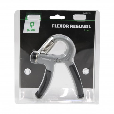Flexor antebrat Qizo, otel, reglabil, 5-20 kg / 20-40 kg