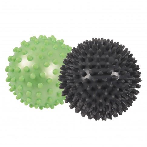 Minge pentru masaj Qizo, PVC, D 7 cm + D 9 cm