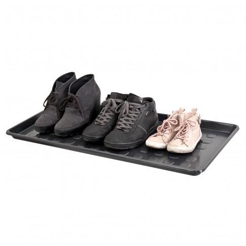 Tava multifunctionala, plastic, negru, 76 x 38.4 x 3.2 cm