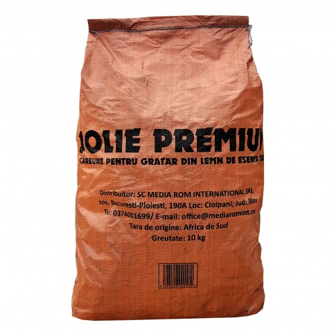 Carbune clasic pentru gratar si camping Jolie, 10 kg