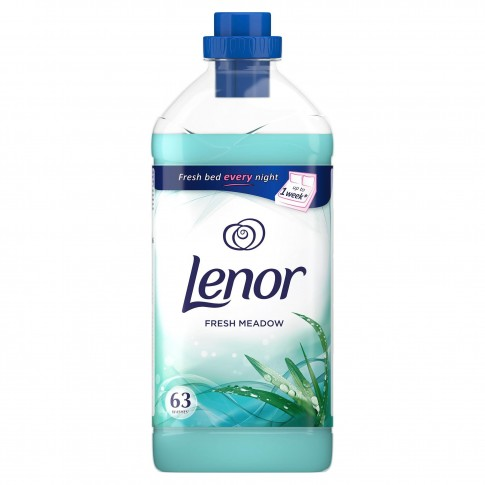 Balsam de rufe Lenor Fresh Meadow, parfum floral-fructat, citrice, 1.9 L