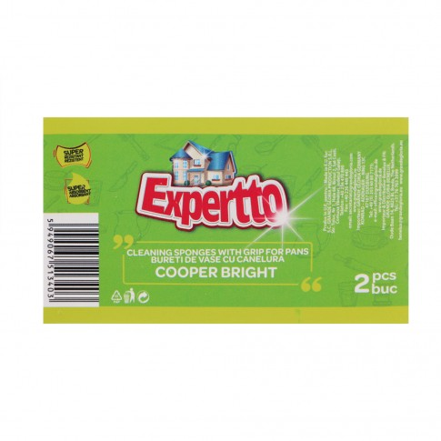 Bureti pentru uz casnic Cooper Bright Expertto, cu canelura, set 2 bucati