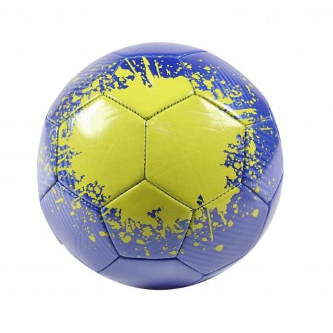 Minge pentru fotbal, PVC, albastru