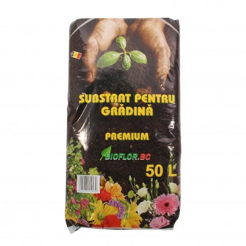 Substrat universal pentru gradina Bioflor premium, 50 l