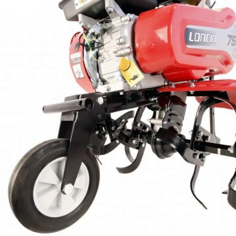 Motocultor pe benzina Loncin LC750 ECO, 7 CP, 3 viteze + accesorii