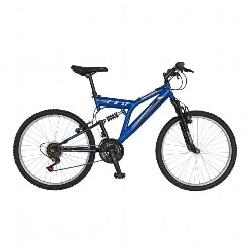 Bicicleta MTB, Rich R2449A, full suspension, 24 inch