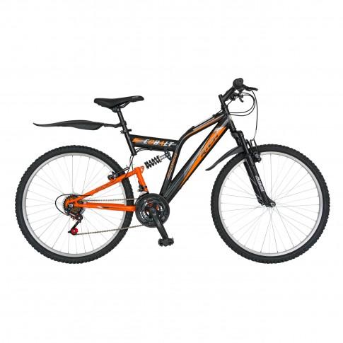 Bicicleta MTB, Rich R2649A, full suspension, 24 inch