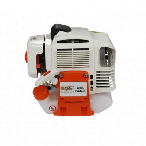 Motocoasa pe benzina O-Mac 520 K Trident, 1.8 kW, 2.4 CP