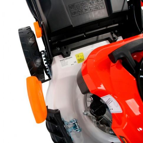 Masina tuns iarba, pe benzina O-Mac M178-2BJ, cu autopropulsie, 6.5 CP, 4.8 kW