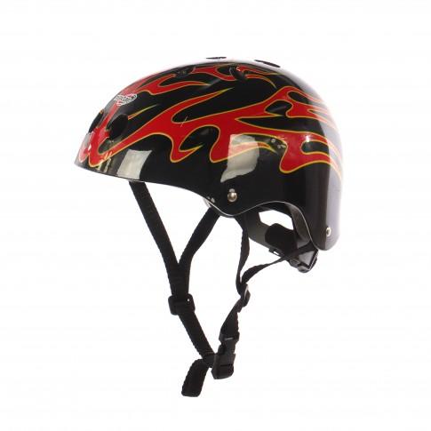 Casca protectie, pentru copii, Maxtar Flame, cu adaptor, pentru bicicleta, 54 - 60 cm
