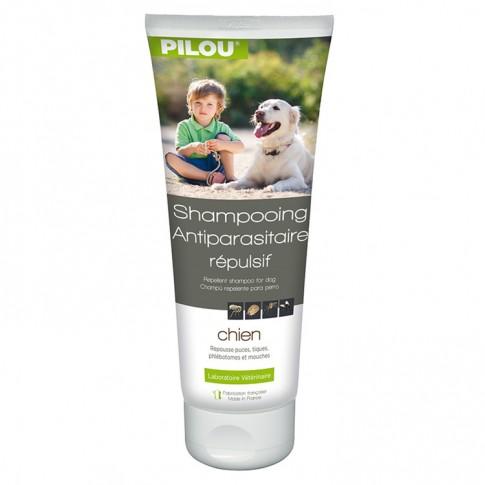 Sampon antiparazitar pentru caini Pilou, 250 ml