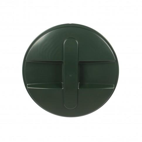 Capac pentru butoi 250 litri Dolplast, polietilena, verde