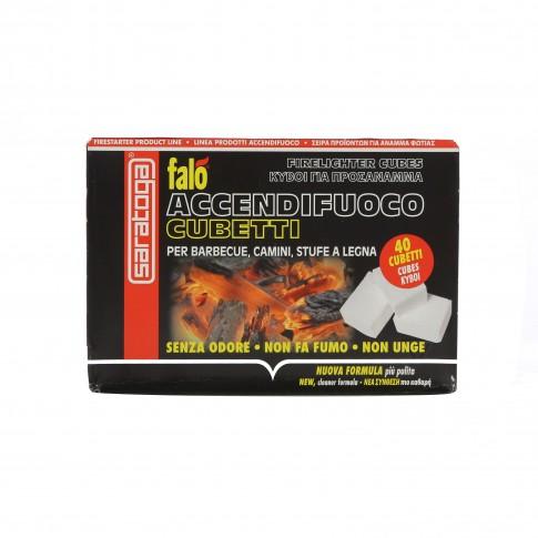 Cuburi pentru aprins focul Falo, 40 buc