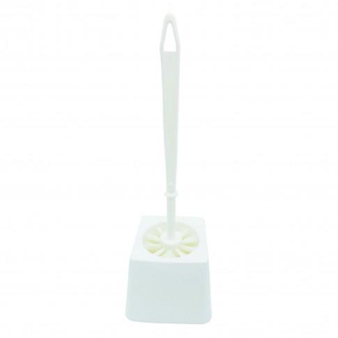 Perie WC Plastina 29174, alb, plastic, 37 x 13 x 13 cm