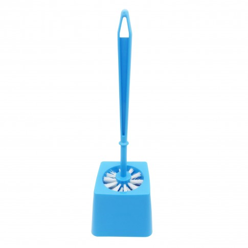 Perie WC Plastina 29175, albastru, plastic, 37 x 13 x 13 cm