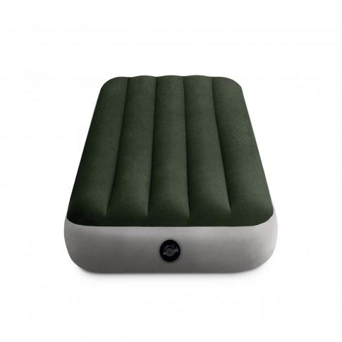 Saltea gonflabila Intex 64106, pentru camping, 1 persoana, 191 x 76 x 25 cm