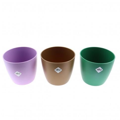 Ghiveci din plastic Brusseles Mini, violet D 9.5 cm