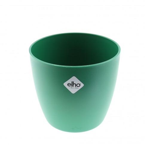 Ghiveci din plastic Brusseles Mini, verde D 10.5 cm