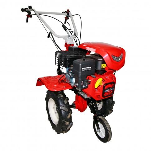 Motocultor pe benzina Loncin LC 850, 7 CP, 3 viteze + roti cauciuc
