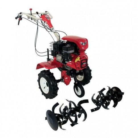 Motocultor pe benzina, Loncin LC1200, 8 CP, 4 viteze + roti cauciuc