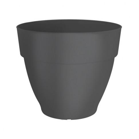 Ghiveci din plastic Vibia Campana, negru, D 30 cm