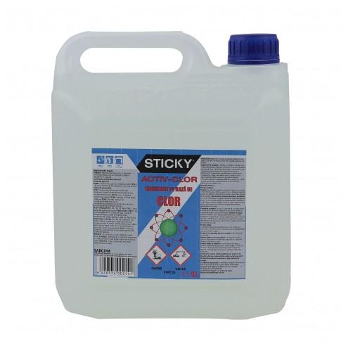Igienizant pe baza de clor Sticky Activ, 4 L