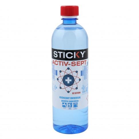Igienizant universal Activ - Sept Sticky, pentru suprafete, 0.75 L