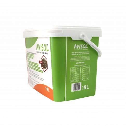Ingrasamant organic, universal, Avisol, 4 - 8 mm, 18 L