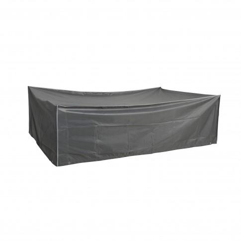 Husa pentru set masa cu 6 scaune gradina Versay, 200 x 130 x 60 cm
