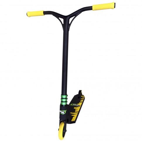Trotineta DHS Freestyle 1151, galben/negru, 82 x 58 x 71 cm