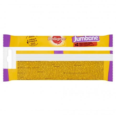 Hrana complementara pentru caini Pedigree Jumbone, adult, carne de vita si pasare, 2 buc, 180g