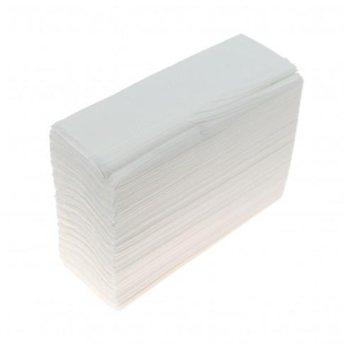Prosop Z - Fold Papely, celuloza, 2 straturi, alb, 5 x 200 buc / set