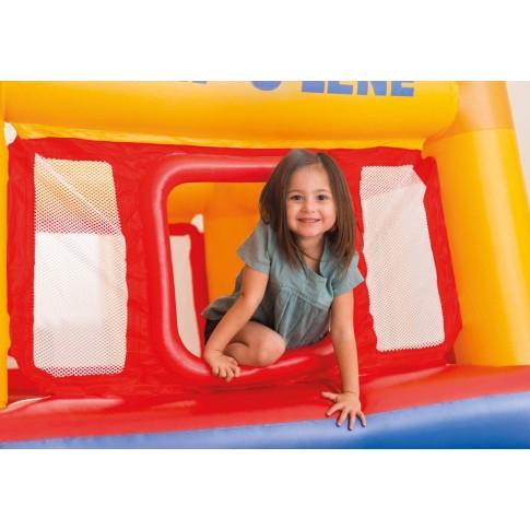 Centru de joaca, Jump-o-Lene Intex 48260NP, din plastic, interior, 171 x 171 x 112 cm