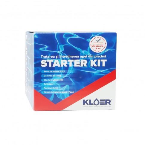 Set Start Kloer, solutii pentru intretinere apa piscina