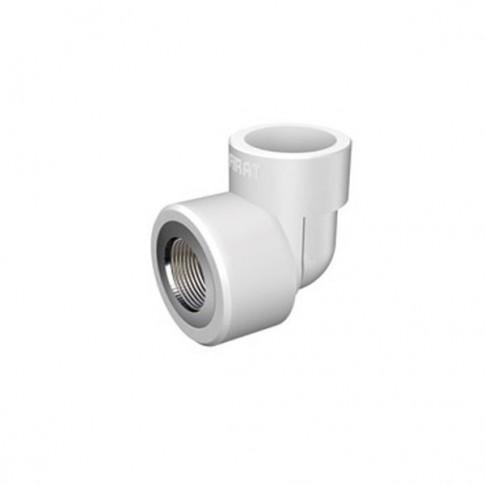 """Cot PPR, FI, 40 mm x 1 1/4"""", alb, 90 grade"""