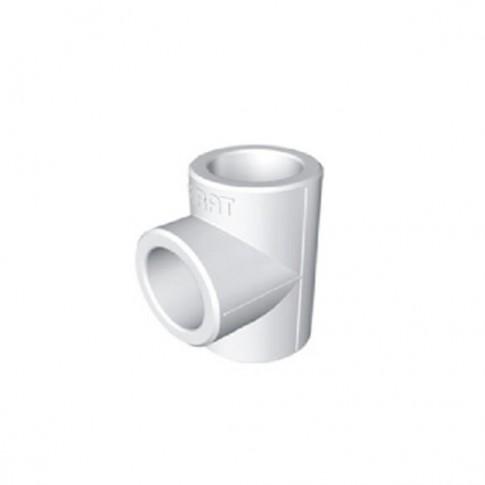 Teu PPR, D 40 x 25 x 40 mm, alb