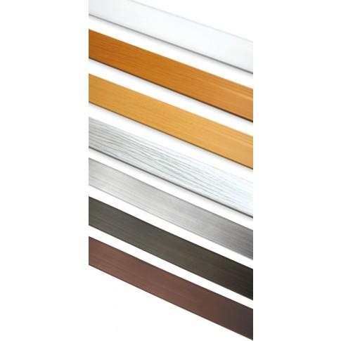 Masca PVC, pentru sina GK, Gardinia 8623/8485, 7 cm, alb
