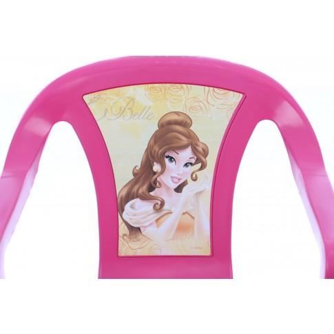 Scaun copii Princess BA5406PR, pentru gradina, plastic, 38 x 38 x 52 cm