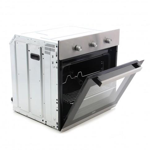Cuptor pe gaz incorporabil Beko BIG22102X, 66 litri, grill, rotisor, timer, aprindere electrica, inox
