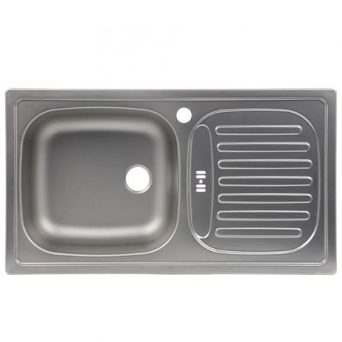 Chiuveta bucatarie inox panzat Blanco Flex Mini 512032 cuva pe stanga 78 x 43.5 cm