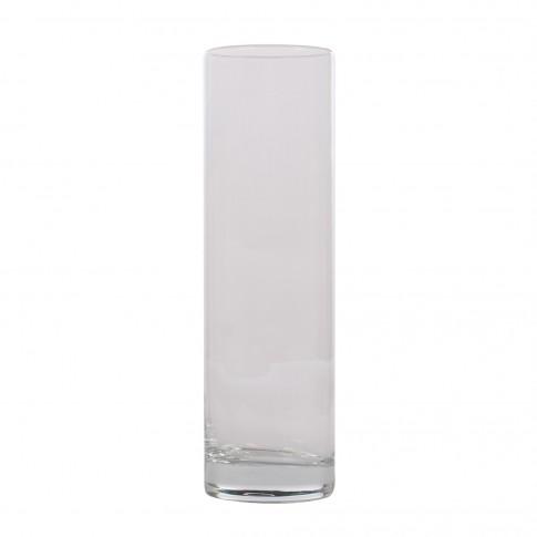 Vaza Flora, din sticla transparenta, H 26.5 cm