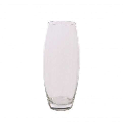 Vaza Flora, din sticla transparenta, H 26 cm