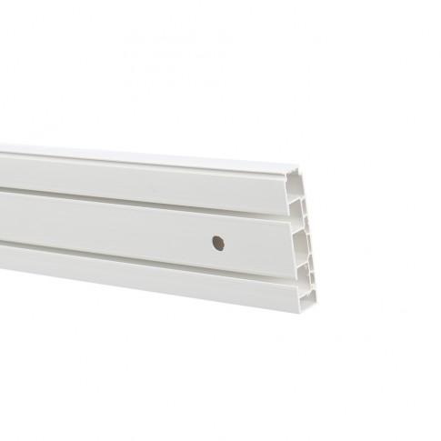Sina perdea tavan cu 2 canale Munchen BM 2 PVC 300 cm alb
