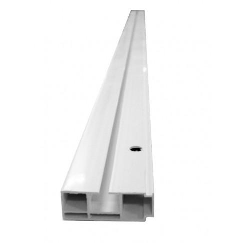 Sina perdea tavan cu 1 canal Munchen BM 1 PVC 250 cm alb