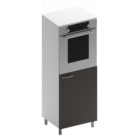 Dulap bucatarie Martplast 3007, pentru cuptor, diverse culori, o usa, 60 x 60 x 144 cm