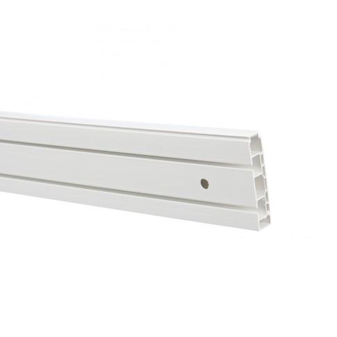 Sina perdea tavan cu 2 canale Munchen BM 2 PVC 350 cm alb
